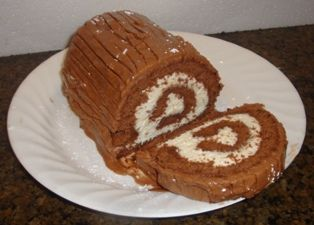 Chocolate Christmas Yule Log, also called a Swiss Log | This fat kid ...