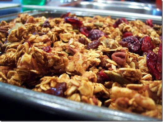 Pumpkin Pie Granola by Eat Chic Chicago. Find the healthy recipe at ...