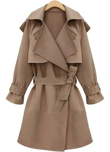 Trench Coat by She Inside