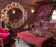 Awesome burlesque room interior design bedrooms for Burlesque bedroom ideas