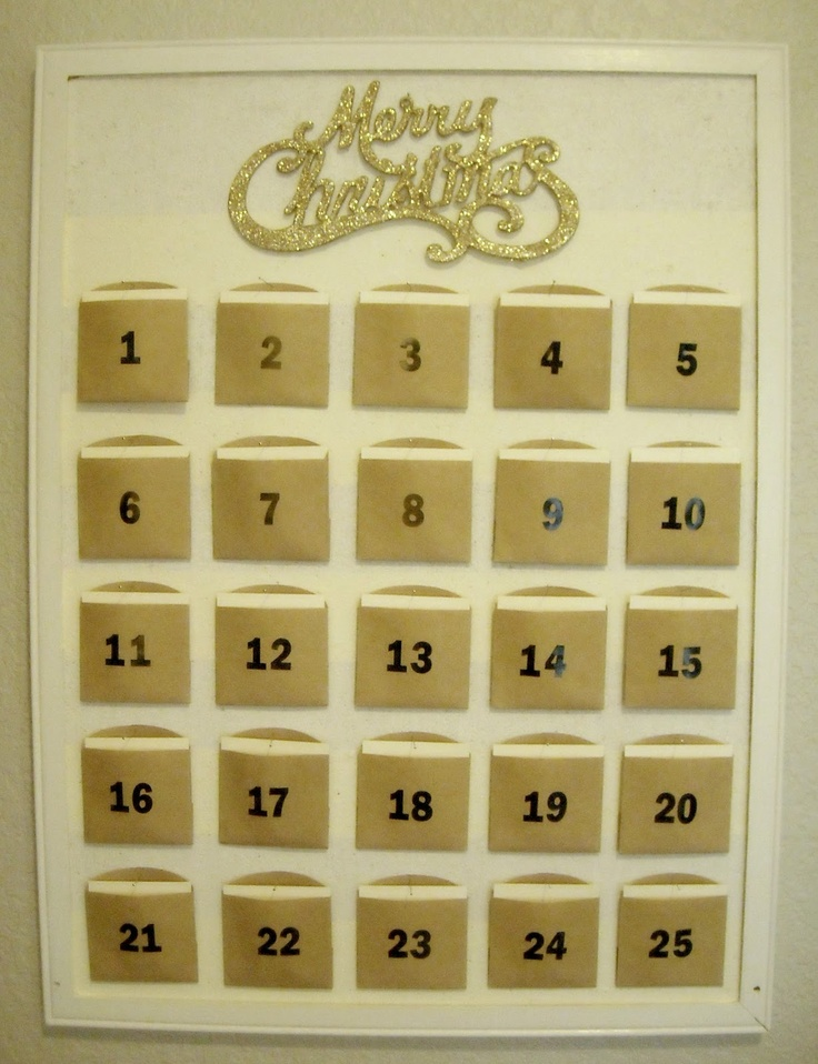 Christ Centered Countdown to Christmas advent calendar