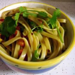 Chinese spicy peanut pasta salad @ allrecipes.co.uk