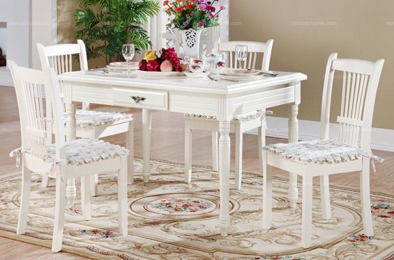 Hanfeier Country Style Dining Room Five Pieces Dining Set MelodyHome