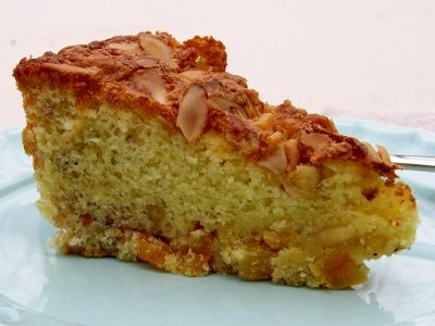 Apricot Nut Cake- toasted almonds and pine nuts with dried apricots