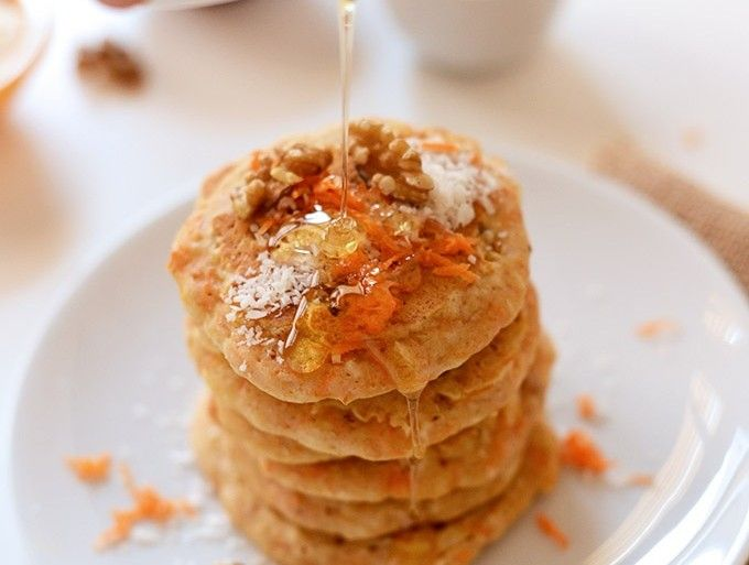 Carrot Cake Pancakes | #Brunch | Pinterest