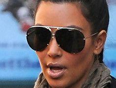 Kim Kardashian Aviator Sunglasses