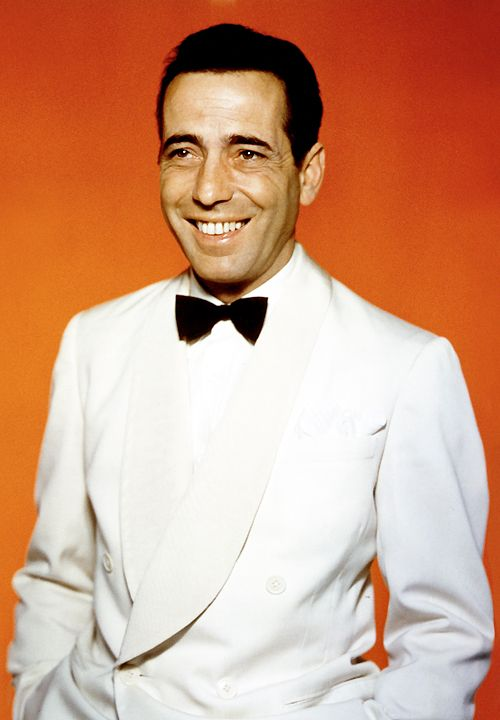 Humphrey Bogart photographed as Rick Blaine for Casablanca (1942)
