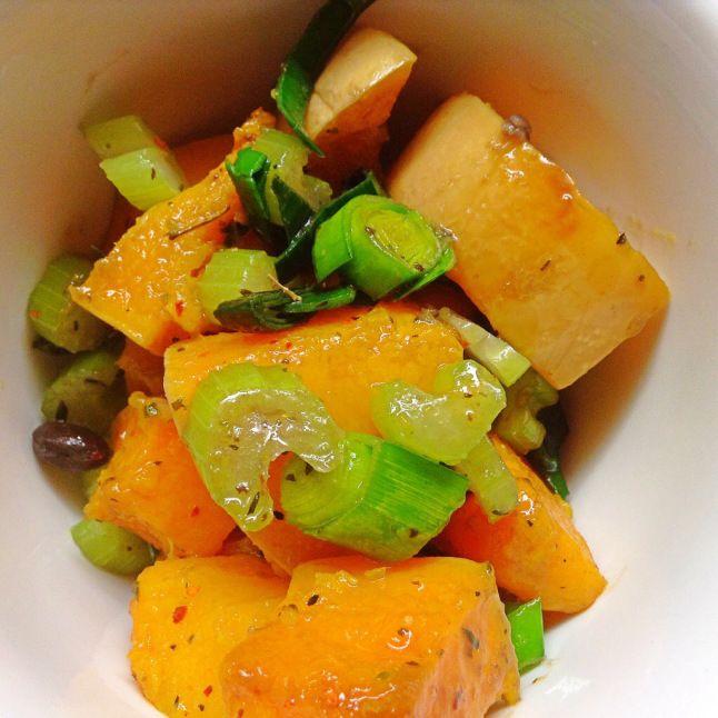 Roasted Butternut Squash with Leeks | Vegetarian & Vegan Foods | Pint ...