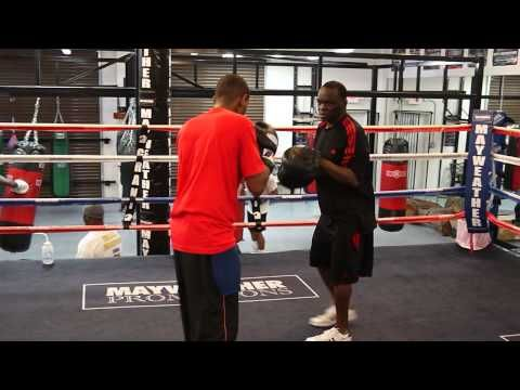 Day at the mayweather boxing club