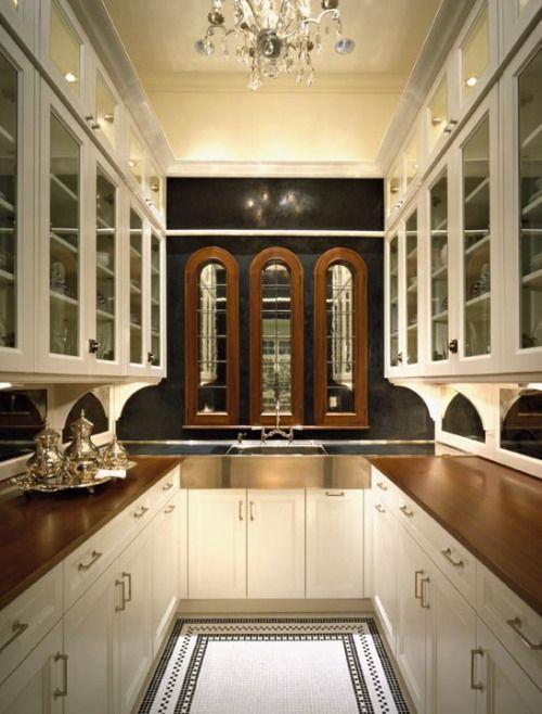 Historic butler 39 s pantry kitchen ideas pinterest for Butler kitchen ideas