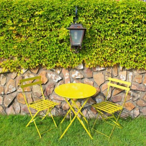 Pin by nuryba decor on jardin pinterest - Mesas y sillas de jardin ...
