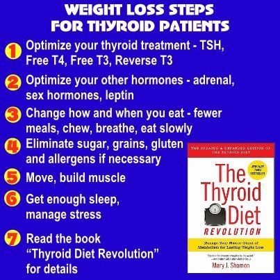 Tips on losing weight with a thyroid problem quiz