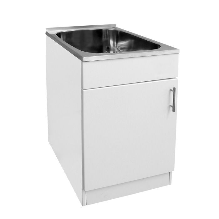 Laundry Basin Bunnings : ... - LAUNDRY TROUGH AND CABINET MINI from The Sink Warehouse #laundries