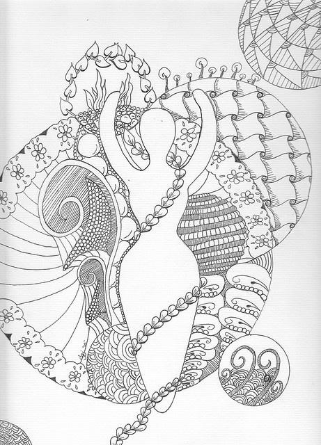 zen coloring nature pages - photo#18