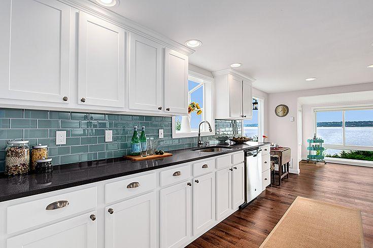 Beautiful Aristokraft Benton White Kitchen Cabinets