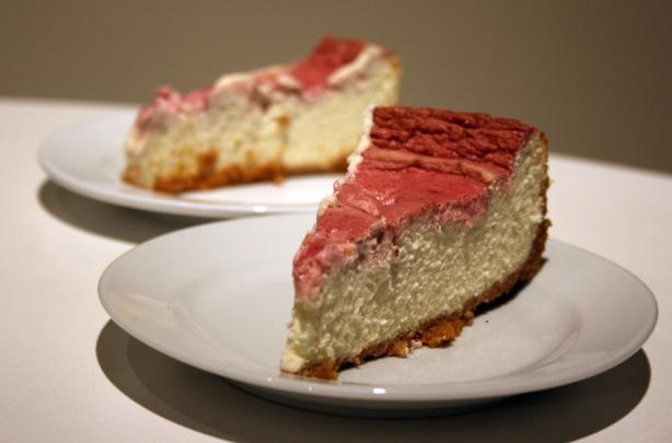 Strawberry Marble Cheesecake | Cakes | Pinterest