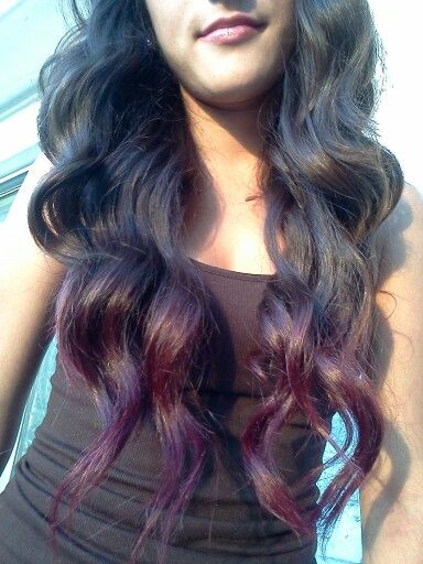 Kool-Aid Hair Tips! To achieve this color (on brunette hair most