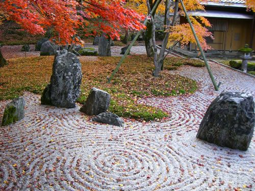 Zen rock garden yard pinterest Pictures of zen rock gardens