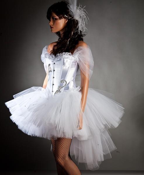 Robe de mariée créateur courte