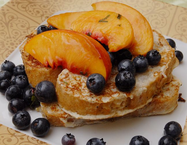 Buttermilk French Toast with Fresh Fruit | Food and Other Yummies | P ...