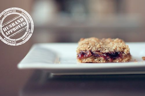 raspberry oatmeal bar recipe