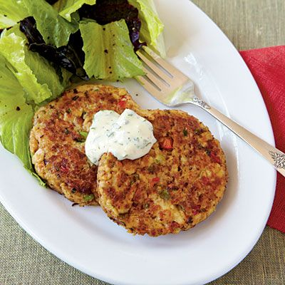 Salmon Croquettes voted 25 Best Seafood Recipes from Cooking Light- a ...