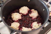 "blackberry ""slump"" or ""grunt"" is basically a cobbler cook..."