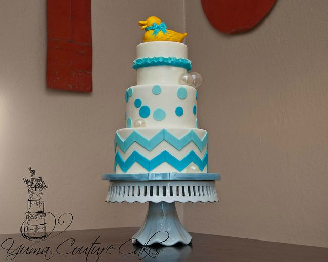 Yuma AZ Baby Shower by Yuma Couture Cakes, via Flickr