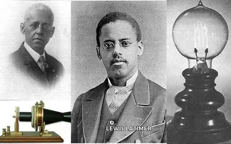 Lewis Latimer | Black History Month | Pinterest