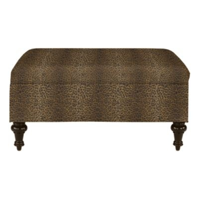 ballard designs tailored storage ottoman for the home paris leather chair amp ottoman ballard designs