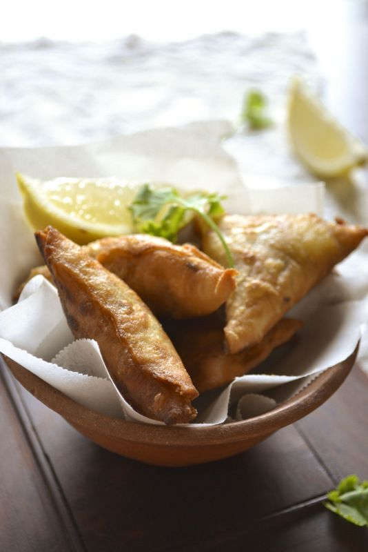 MEAT SAMOSA | kurryleaves | Eating With My Eyes | Pinterest