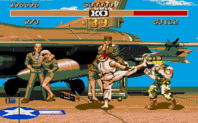 games street fighter 2