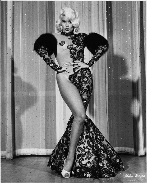 Vintage pinup shot of blonde bombshell quot jayne mansfield