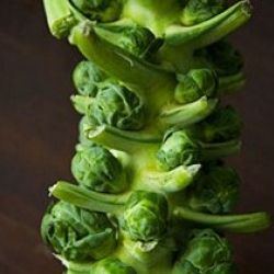 ... Sprouts with lemon, walnuts and pecorino cheese // #MenAtKitchen