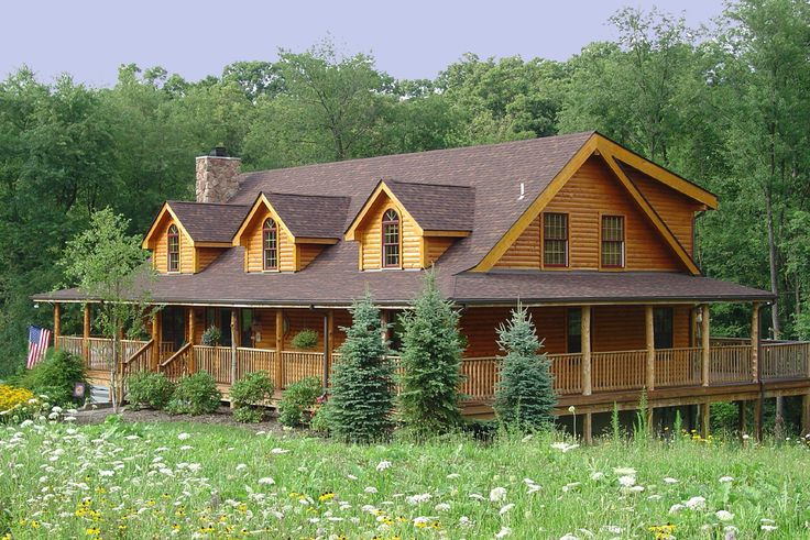 Log Cabin Lets Make This House Into A Home Pinterest