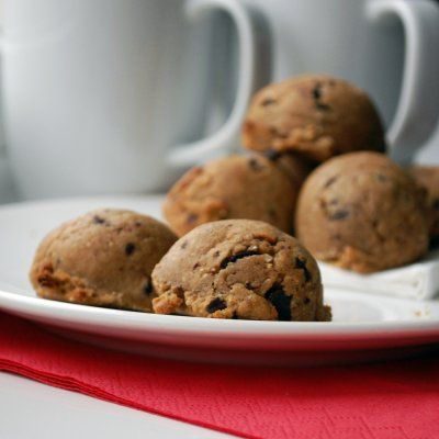 Half Baked Cookie Dough Balls | Desserts and Sweets | Pinterest