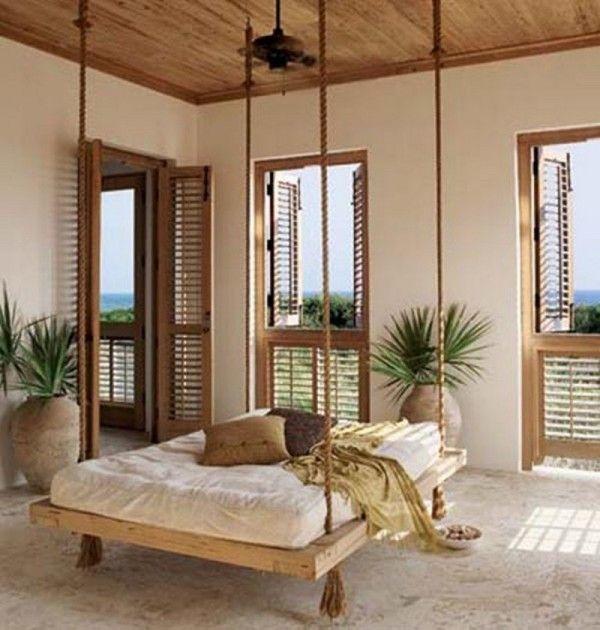 Hanging Beds For Bedrooms Diy Adventures Home Yard Pinterest