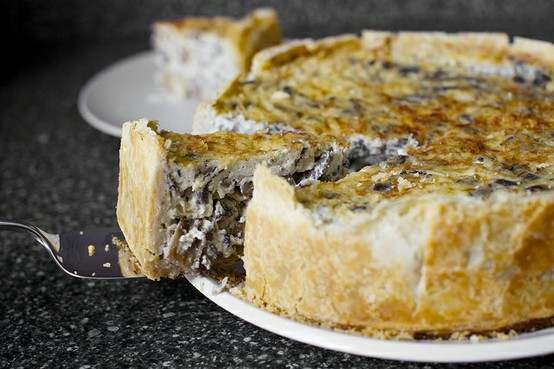 OVER-THE-TOP MUSHROOM QUICHE BY SMITTEN, VIA FLICKR