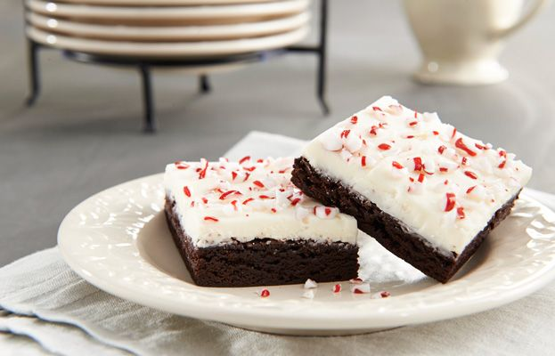 Hershey's Chocolate Peppermint Crunch Brownies ...