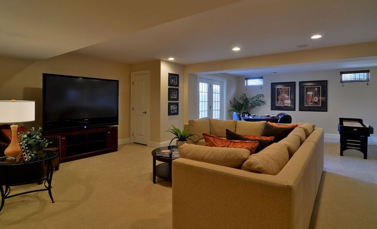 The empress basement rec room empress home design for Basement rec room ideas