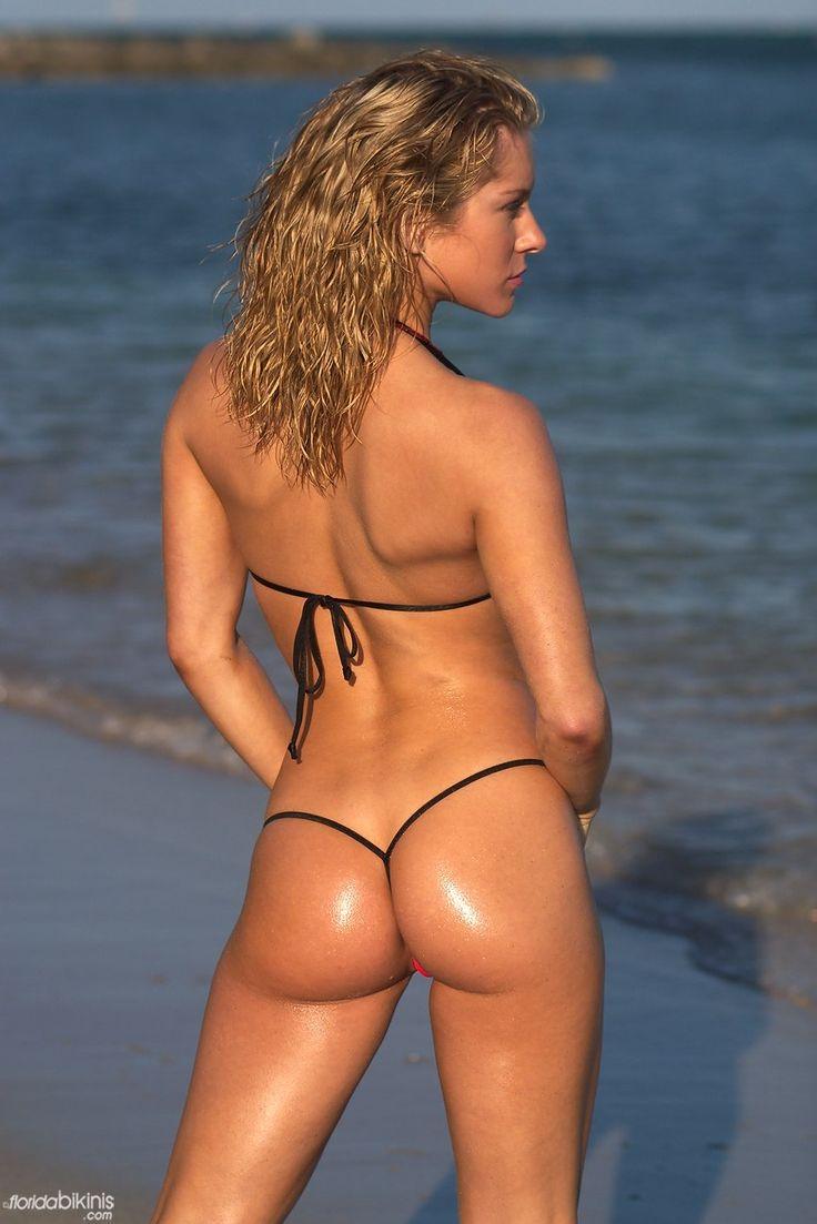 Florida bikini model thong