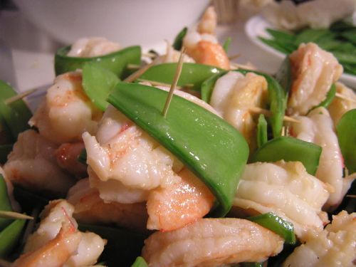 Shrimp and Snow Peas: Proper Parties and Toothpicks | The Paupered ...