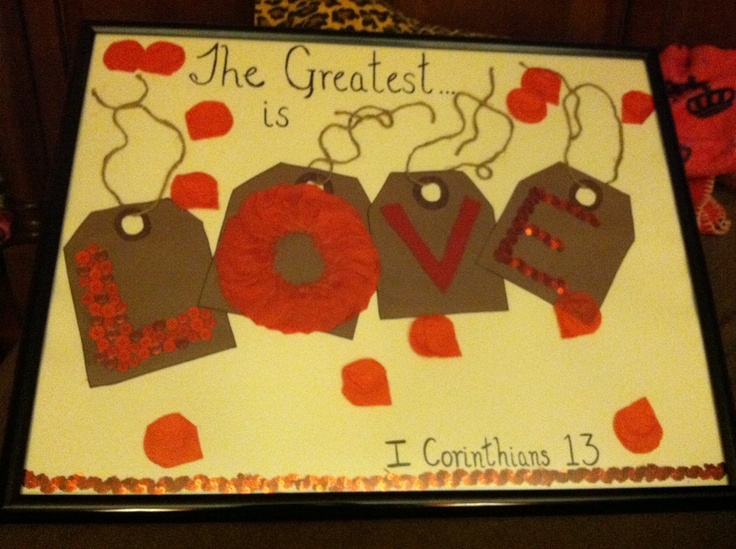 ... boyfriend on our anniversary of six months. Cute idea for Valentine's