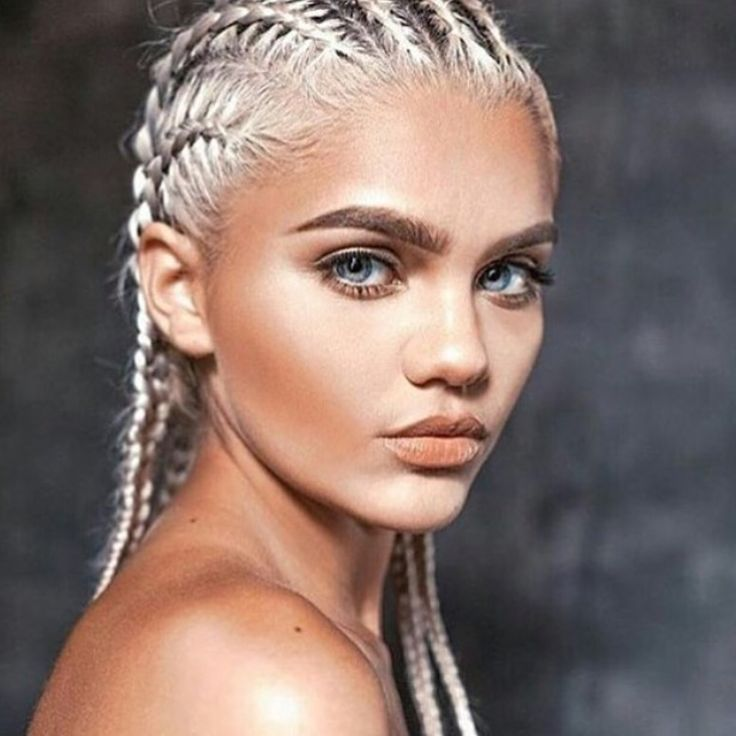 Braided Brows Are the New Beauty Trend Were Pretty Sure Youre Never Gonna Try