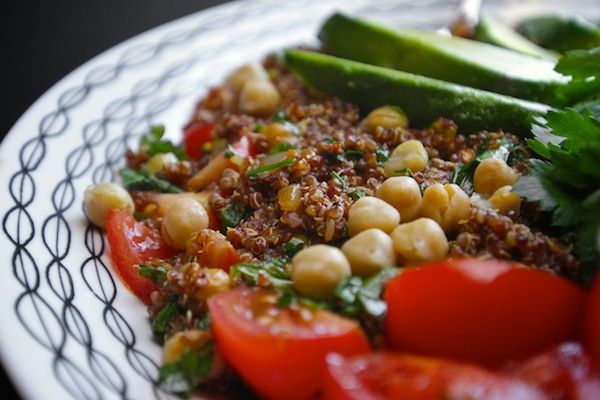 Quinoa Tabbouleh Salad by Shutterbean. This will be post burgers this ...