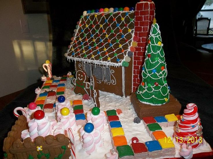 Candy Land | Gingerbread Exchange | Gingerbread Houses | Pinterest