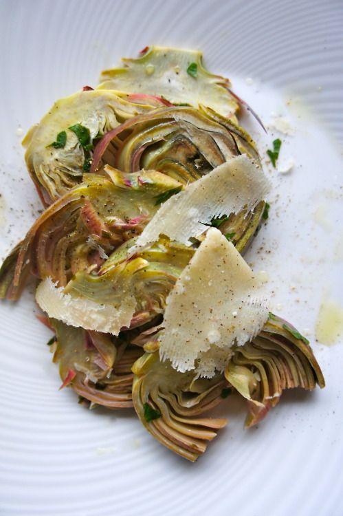 Italian braised artichokes | recipes/food | Pinterest