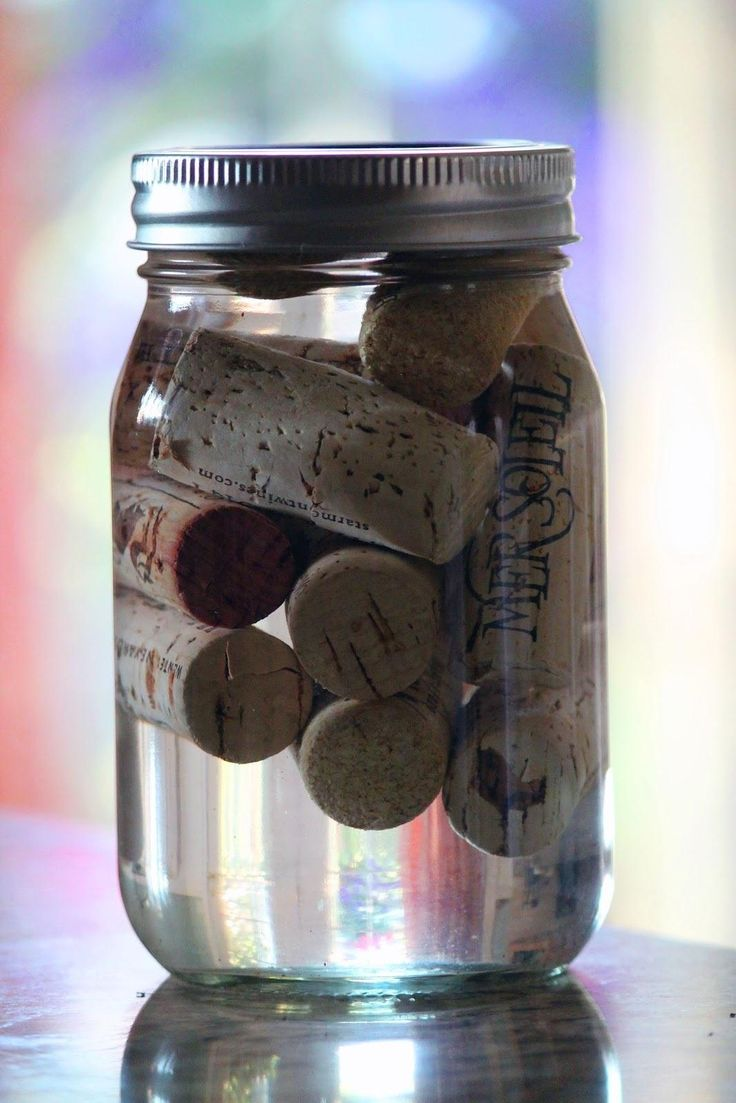 For the outdoor adventurer, perhaps the most practical reuse for old wine corks are fire starters. Just soak your cork stoppers in a jar of alcohol before you head out on your next camping trip and