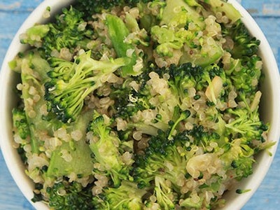 Double Broccoli Quinoa | Favorite Recipes | Pinterest