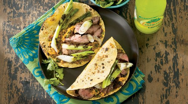 Steak and Onion Tacos with Chipotle Guacamole - Cooking Club - Scout
